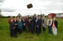Turning the sod for new Longwood Post Primary School
