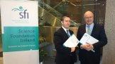 With Professor Mark Ferguson, Head of Science Foundation Ireland