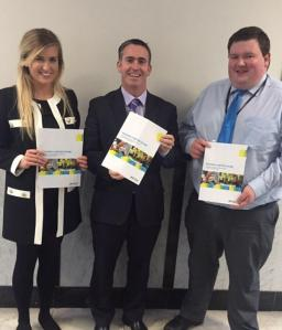 Great to meet with Young Fine Gael members to hear their solutions for more affordable student accomodation
