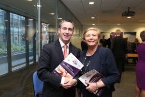 With Justice Minister Frances Fitzgerald