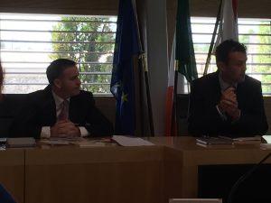 With Mayor Ivan Keatley, Kildare Co. Co.